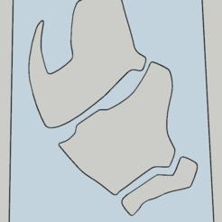 Télécharger fichier STL stencil iron man 02 • Plan pour impression 3D, Vincent-3D