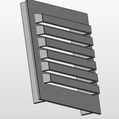 grile plinthe.PNG Download STL file Kitchen plinth grille • 3D printable design, Vincent-3D