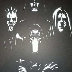 Télécharger fichier 3D stencil star wars 01, Vincent-3D