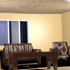 living room.png Download free STL file Living room 3D model • 3D printer design, Ankita85