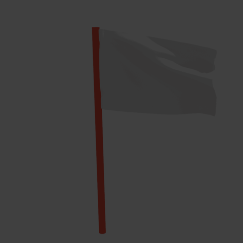 Free STL file 3D flag animation blender cycle render, Ankita85