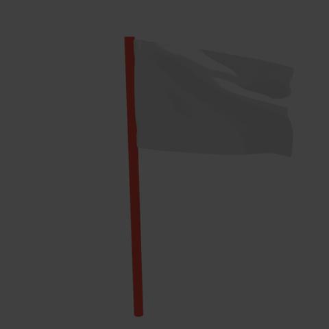 Télécharger modèle 3D gratuit Rendu du cycle de mixage d'animation de drapeaux en 3D, Ankita85