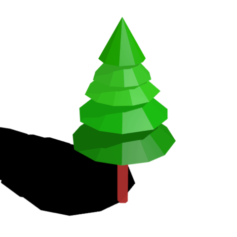Free 3D print files Low poly 3D tree model, Ankita85