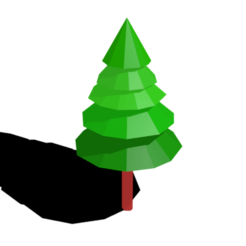 Download free STL file Low poly 3D tree model • 3D printer design, Ankita85