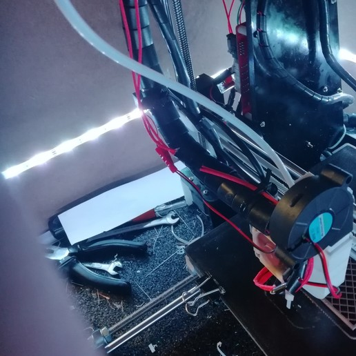 Download free 3D printing designs Anet A8 ultimate X carriage [UPDATED], vingautmobile