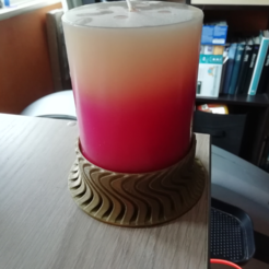 Download free 3D printing files Wavy Candlestick, vingautmobile