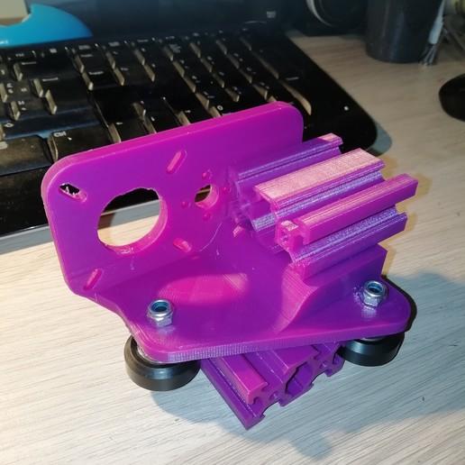 Télécharger fichier STL gratuit Concept de transport mixte 2040 v-slot • Design pour impression 3D, vingautmobile