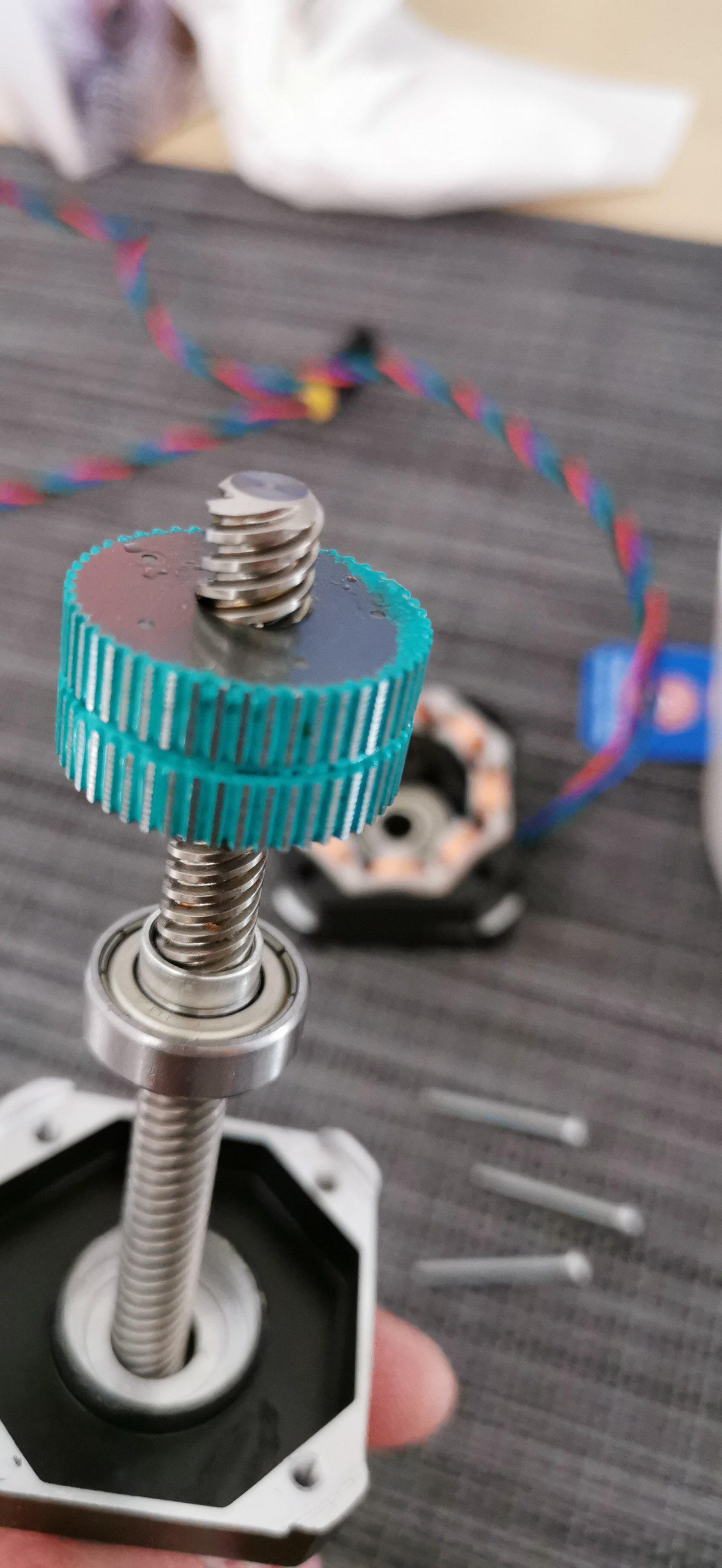 IMG-20191007-WA0002.jpeg Télécharger fichier STL gratuit Moteur Prusa d'origine - Rotor à étrier - Rotor de protection lors du démontage • Objet imprimable en 3D, fidak45