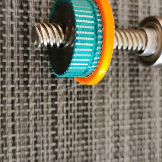 IMG-20191007-WA0008.jpeg Télécharger fichier STL gratuit Moteur Prusa d'origine - Rotor à étrier - Rotor de protection lors du démontage • Objet imprimable en 3D, fidak45