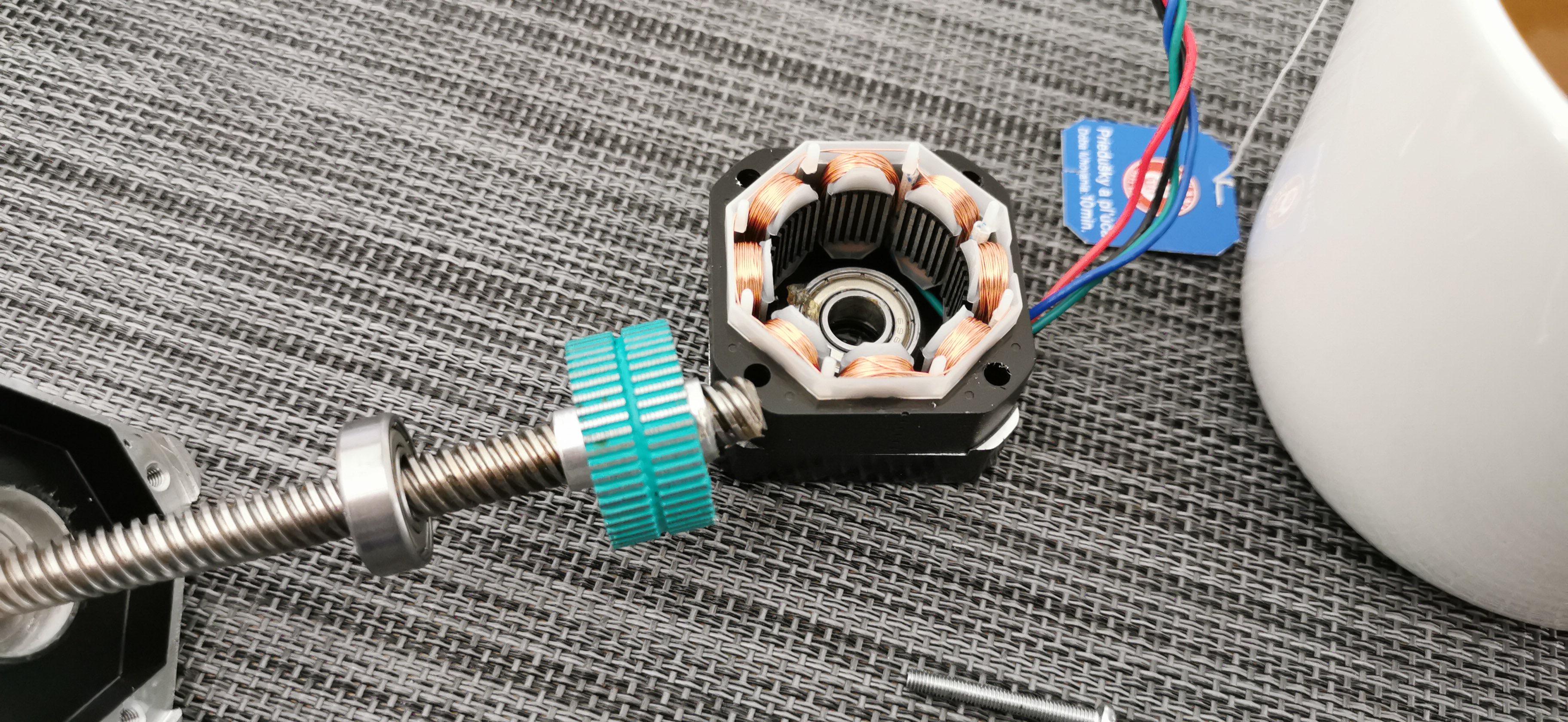 IMG-20191007-WA0000.jpeg Télécharger fichier STL gratuit Moteur Prusa d'origine - Rotor à étrier - Rotor de protection lors du démontage • Objet imprimable en 3D, fidak45