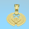 3D printing model Pendant - scarab 3D model, NikolayTr