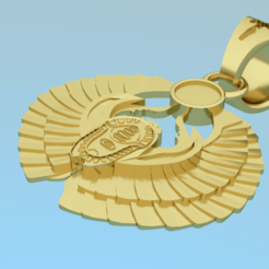 Download 3D printing designs Pendant - scarab 3D model, NikolayTr