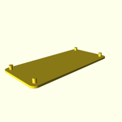 ecfe5fc1ccd3874af7df71a2cb6fe764.png Download free SCAD file Minimum case for Raspberry Pi Zero • 3D printer design, LeatherWing