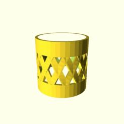 387dd263ca542af48638909259904234.png Download free SCAD file Parametric Vape Tank Bumper. • 3D printing design, LeatherWing