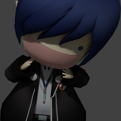 Download free 3D model Yousei Protagonist ・ Cults