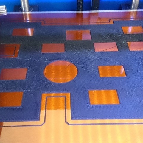 Free 3D printer model Craftbot build plate leveler, Yipham