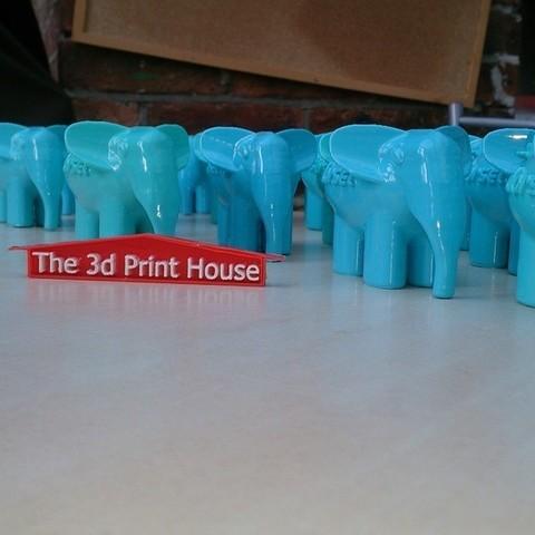 DSC_0397_display_large.jpg Download free STL file elePHPant • 3D print design, Yipham