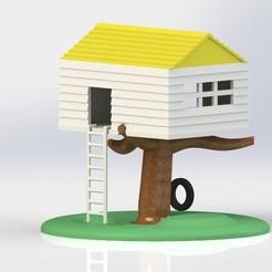 Free 3D printer files Tree House, Yipham