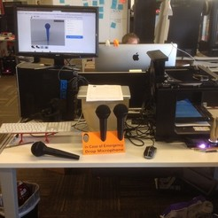 Download free 3D printer templates Emergency Mic Drop Station, Yipham