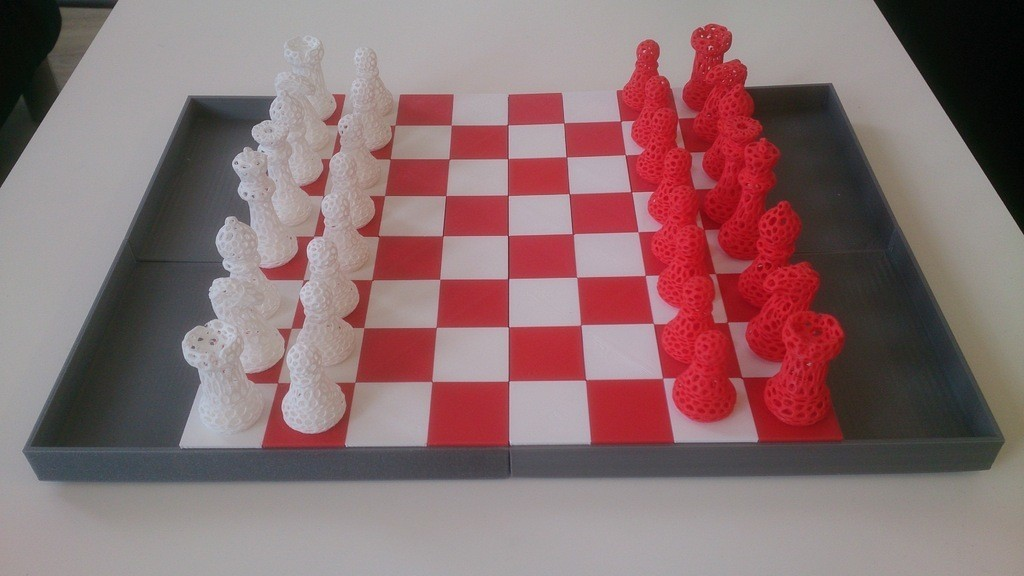 DSC_0159_display_large.jpg Download free STL file Snap fit Chess board • 3D printable model, Yipham