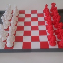 Free STL files Snap fit Chess board, Yipham