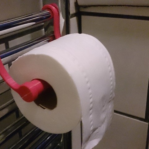Download free STL files loo roll holder, Yipham