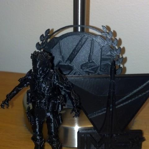 Download free 3D printer model TitanFall IMC Pilot, Yipham