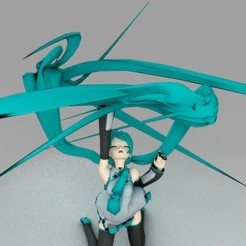 Download free STL Miku Redemption, Yipham