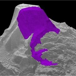 Descargar modelos 3D gratis Oso, WA Desprendimiento de tierras, Tramgonce