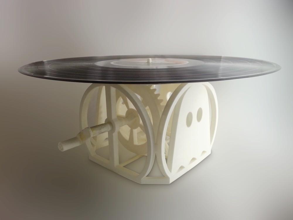 recordPlayer_photo_display_large.jpg Télécharger fichier STL gratuit Lecteur vinyle coudé à la main • Design à imprimer en 3D, Tramgonce