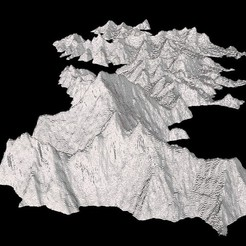 Download free 3D printer designs Mount Everest, Tramgonce