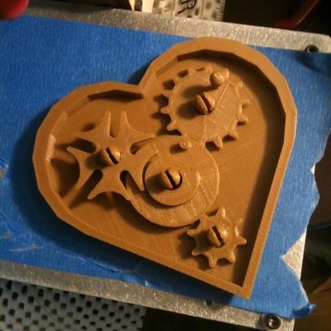Descargar modelo 3D gratis Engranajes de trabajo de sobremesa Valentine, Tramgonce