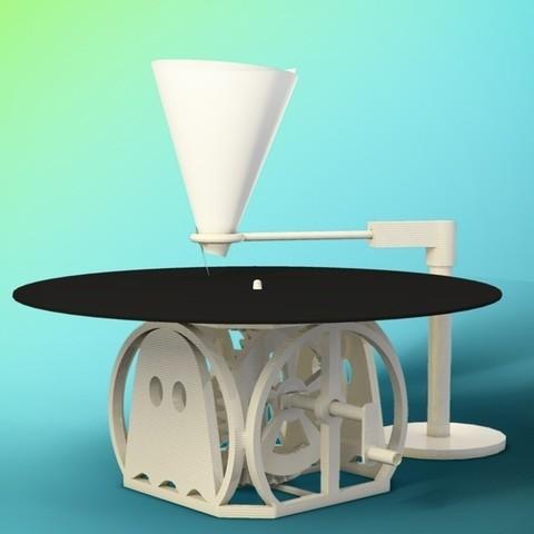 recordplayer_2_small_display_large.jpg Télécharger fichier STL gratuit Lecteur vinyle coudé à la main • Design à imprimer en 3D, Tramgonce
