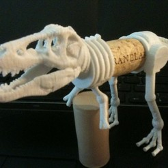 Download free 3D printer designs Corkasaurus Rex - T Rex Remix, Tramgonce