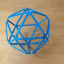 Free STL files Icosahedron set, Tramgonce