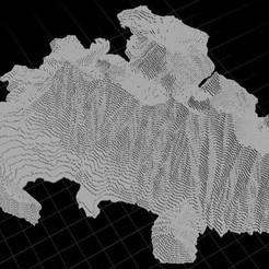 Télécharger objet 3D gratuit Mt Timp (Timpanogos), Tramgonce
