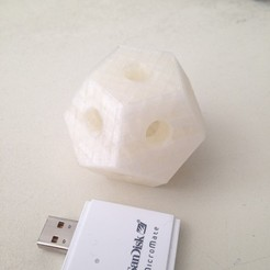 Download free 3D printing files Dodecahedron, Tramgonce