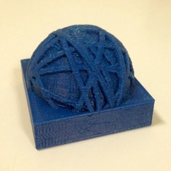 Free 3D printer files Fantasy object, perhaps a paperweight?, Tramgonce