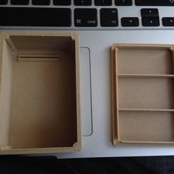 Fichier imprimante 3D gratuit Boîte d'expérimentation, Tramgonce