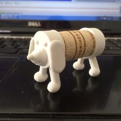Imprimir en 3D gratis cachorro de corcho, Tramgonce