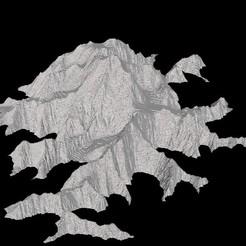 Descargar STL gratis Denali (Monte McKinley), Tramgonce