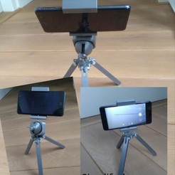4a13bcbb78e66a911eaeaeb4e7bfc58d_display_large.jpg Download free STL file Tripod • 3D printer design, _Jonatan