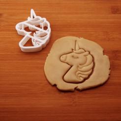 3D print model COOKIE CUTTER UNICORN_7, crea3dj