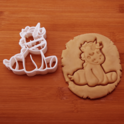 3D print files COOKIE CUTTER UNICORN_8, crea3dj