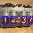 Download free 3D printing designs Steampunk Nixie Tube Clock, fastkite