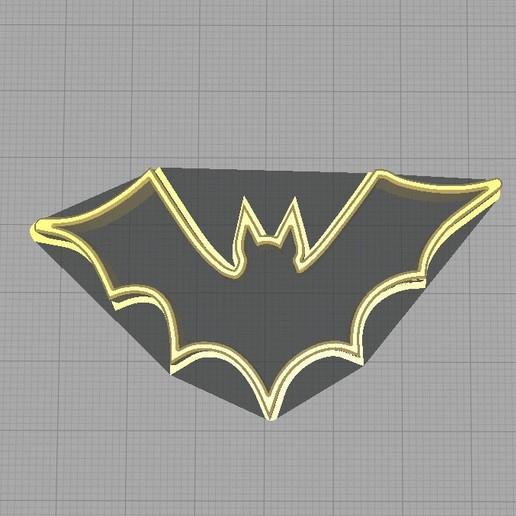 Download Stl File Halloween Bat Cookie Cutter Cookie Cutter 3d Printable Design Cults