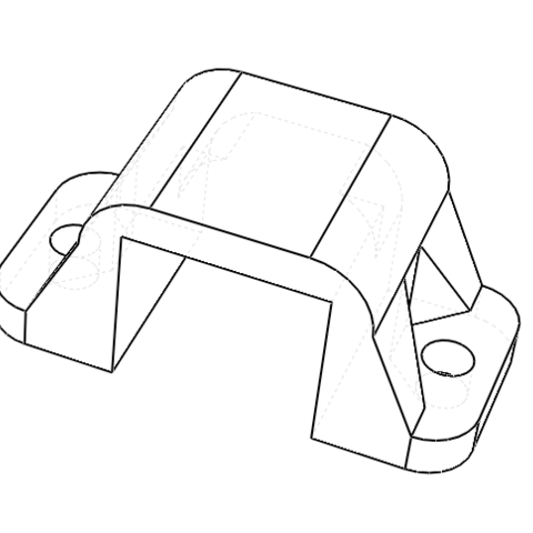 Imagen 3.PNG Download free STL file POLOLU Micro Motor Support. • 3D printing object, IonRobotica