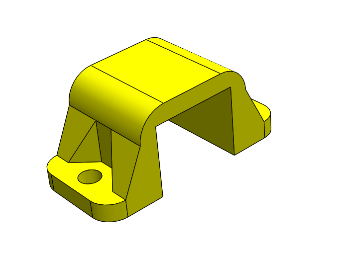 Imagen 1.PNG Download free STL file POLOLU Micro Motor Support. • 3D printing object, IonRobotica