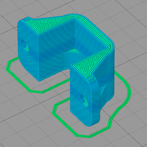 Imagen 4.PNG Download free STL file POLOLU Micro Motor Support. • 3D printing object, IonRobotica