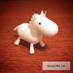 Descargar archivos 3D Bebé Unicornio de Deepwhite, deepwhite
